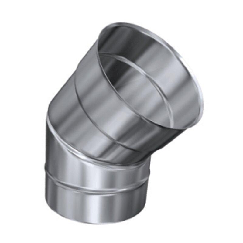 Schornsteinverl/ängerung einwandig 0,5 mm DN 200 1000 mm